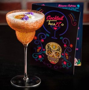 Tequila 100% agave en la coctelería mexicana Tacazzo Madrid